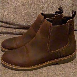 Clark's Slip on boots